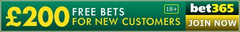 £200 Bet365 Free Bet