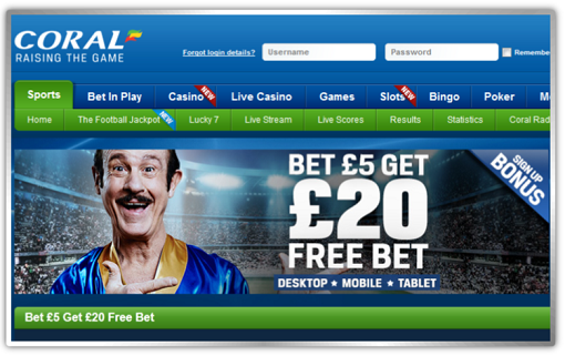 coral free bets tips betting