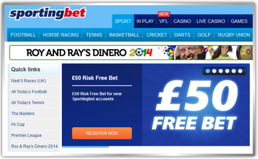 sportingbet free bets tips betting