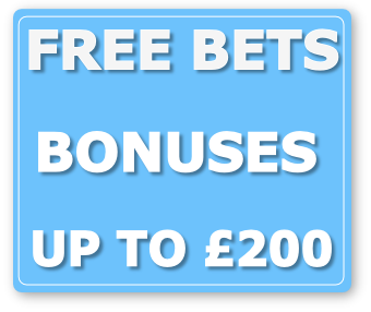 free bets bonuses up to 200