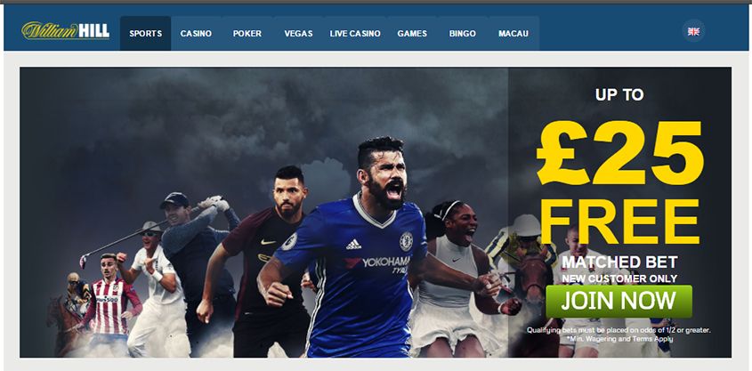 William Hill join now button
